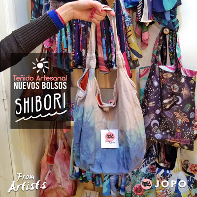 Shibori Bags